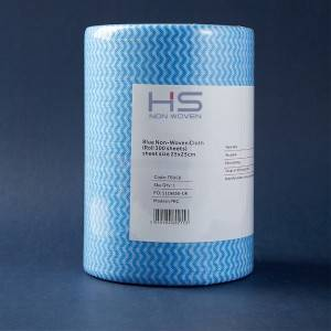 Non woven Cloth Industrial Cleaning Wipes with 300 Count