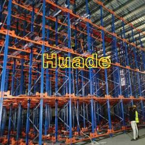 China Wholesale Semi Automated Storage Pricelist –  Shuttle Racking System – Huade
