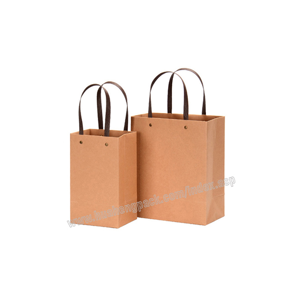 2018 Good Quality Custom Blank Reusable Recycled Kraft Handle Paper Bags - Hand-held Printed Paper Bag – HuaHeng