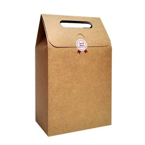Short Lead Time for Large Paper Bags For Recycling - Kraft Paper Gift Bag – HuaHeng