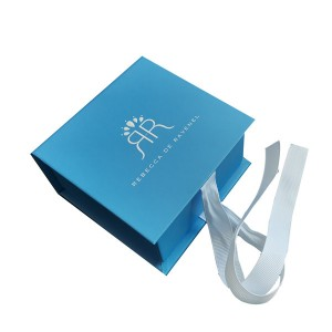 Cosmetic Packing Box, Gift box with Ribbon,Made of High-quality Paper, Various Sizes and Colors are Available, Fancy cardboard gift box, Cardboard gift box, ideal for gifts, toys and cosmetic