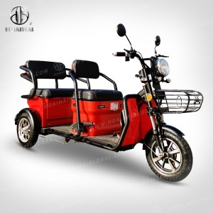 Newly Arrival Electric_Tricycle - Electric Passenger Carrier fashion – Zongshen