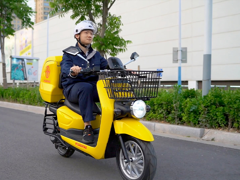 Korean market – electric delivery scooter