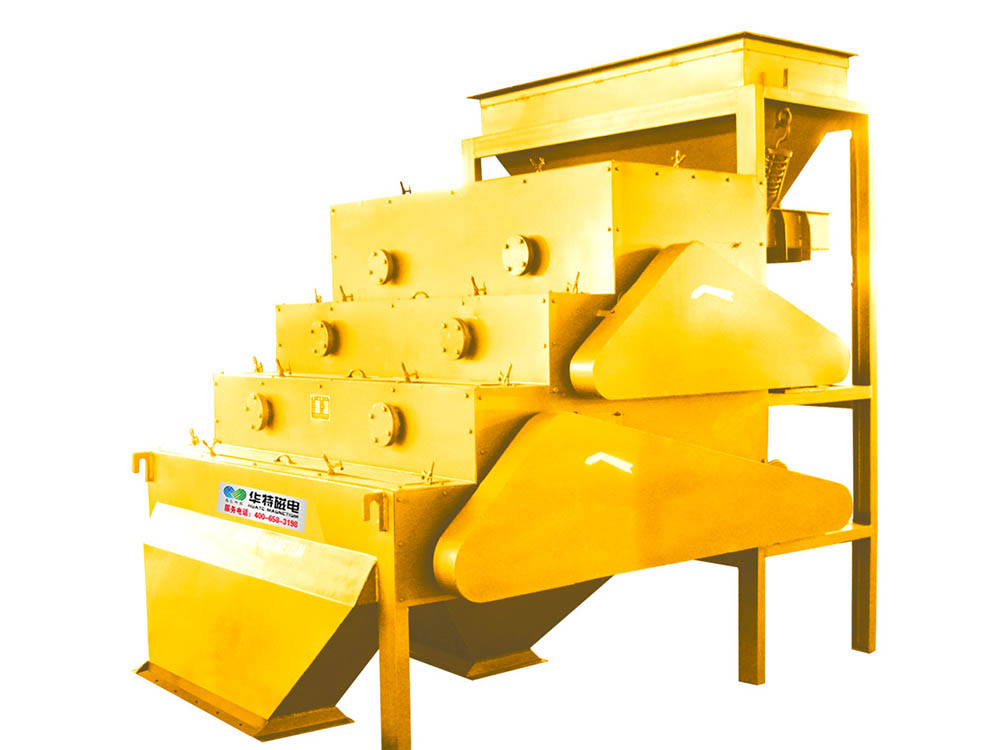 Series CFLJ Rare Earth Roller Magnetic Separator Featured Image