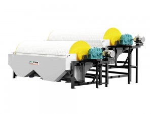 Lowest Price for Belt Magnetic Separator Coal - TCTJ Desliming & Thickening Magnetic Separator – Huate