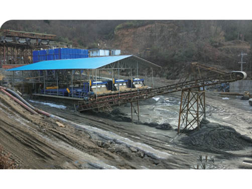 Complete Equipment Production Line for Dry Discharge of Tailing Featured Image