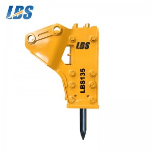Best-Selling Excavator Stone Breaker -  Side Type Hydraulic Breaker LBS135 – Shengda