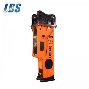 Manufactur standard Hydraulic Breaker Usage - Silenced Type Hydraulic Breaker LBS140 – Shengda