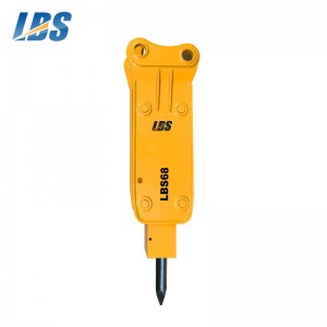 New Arrival China How Does Hydraulic Breaker Work - Top Type Hydraulic Breaker LBS68 – Shengda