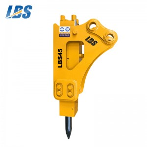 8 Year Exporter Rock Breaker Spare Parts - Side Type Hydraulic Breaker LBS45 – Shengda