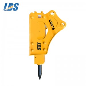 Top Quality Hydraulic Hammer Price -  Side Type Hydraulic Breaker1 LBS75 – Shengda