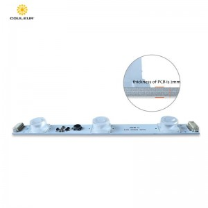 High power Edge-lit LED Strip Light for double sided light box
