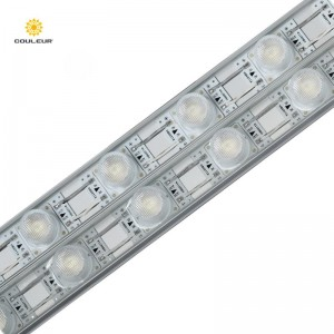 waterproof 24v aluminum led edgelit light bar