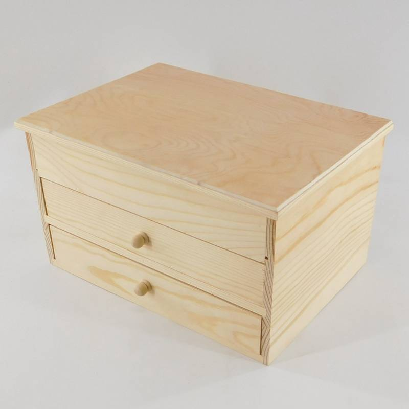 18 Years Factory Desktop Drawers Wood - natural unfinished wood organizer wholesale – Huiyang