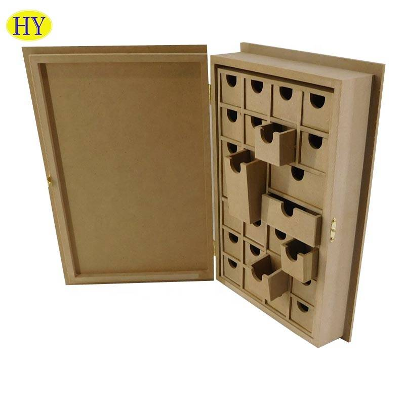 Popular famous wooden desktop with grid storage organizer wholesale
