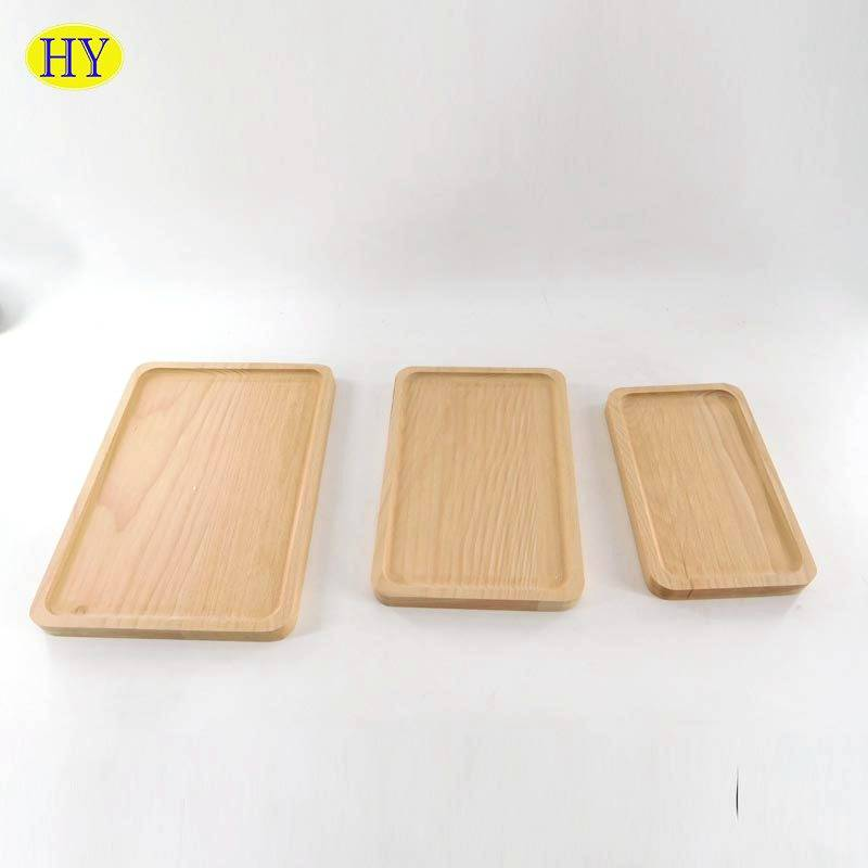 2021 High quality Solid Wood Chopping Board - Wholesale Unfinished Beech Wood Serving Plate for Home Use – Huiyang