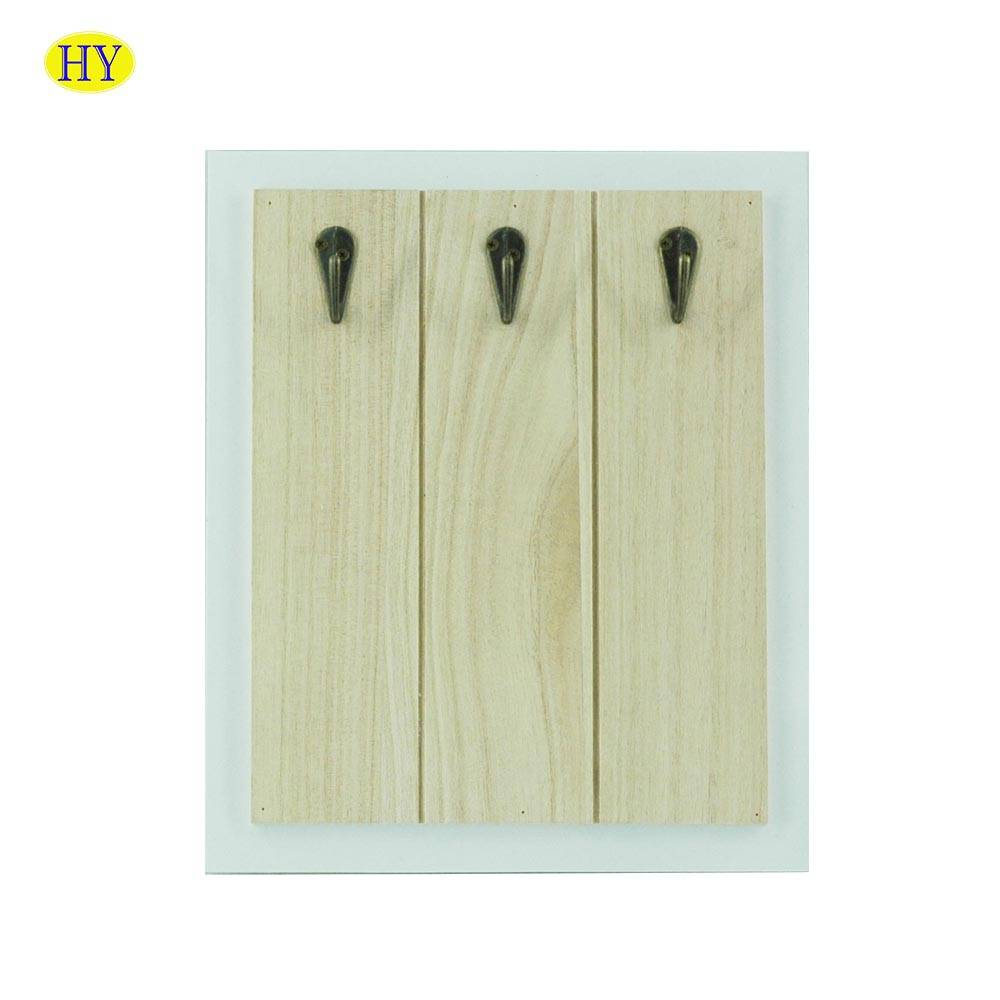 Wholesale Wood Wall Decorative Hanger wooden key box