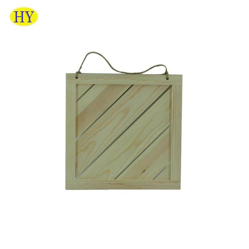 Wholesale Dealers of Mr And Mrs Wooden Signs - unfinished blank wood carved sign wall plaque for wholesale – Huiyang