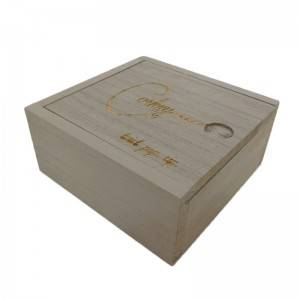 Newest sale superior quality wood wine box sliding lid for sale