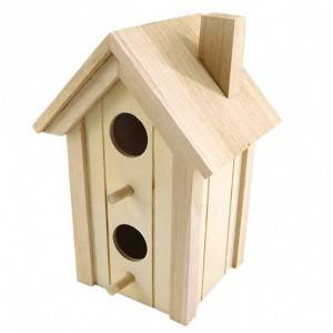 High Quality china manufacturer large wooden bird houses