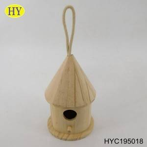 china supplier discount wooden bird houses for sale