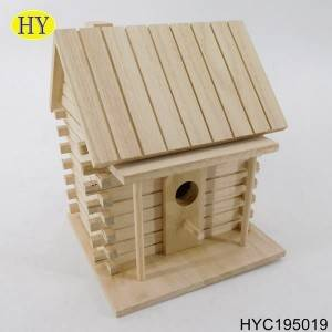 famous china factory fancy wooden bird house