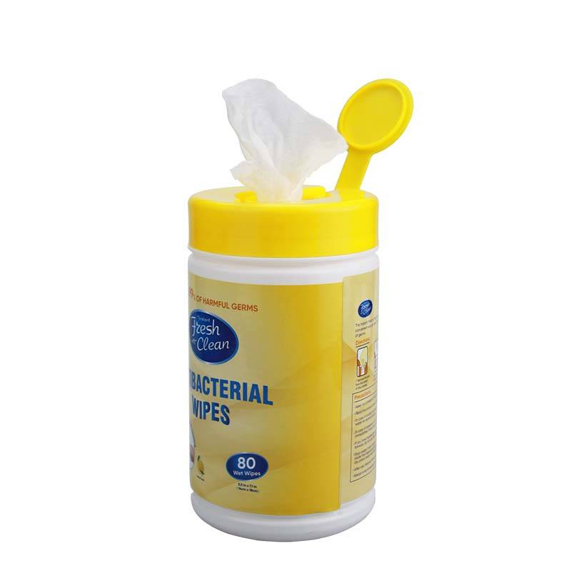 China Wholesale Dog Sanitary Wipes Manufacturers - Kills 99% of harmful germs antibacterial wipes – Better