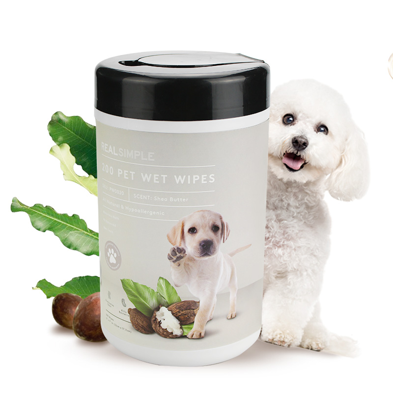 China Wholesale Makeup Remover Wipes Without Alcohol Factory - All Natural hypoallergenic 200 counts pet wet wipes safe friendly for dogs and cats – Better Featured Image