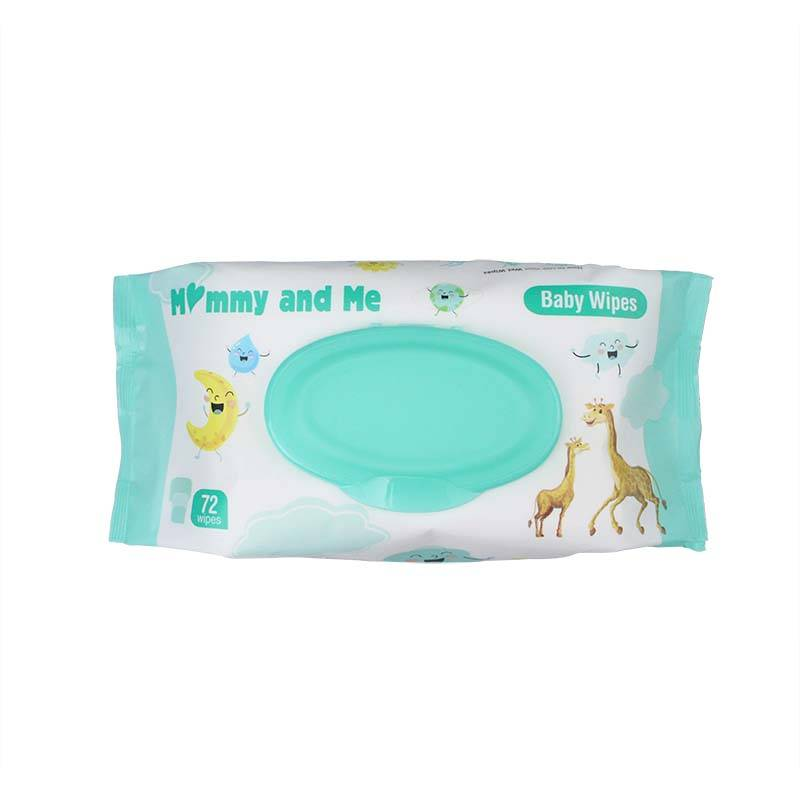 China Wholesale Organic Wet Wipes Pricelist - 72 wipes Household Fragrance Clean Baby Wipes – Better detail pictures