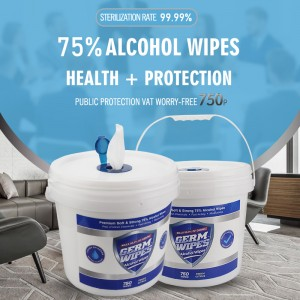 Factory high quality super large capacity 750 counts multipurpose cleaning antibacterial wipes