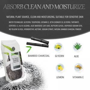 Cleaning and moisturize activated spascriptions charcoal makeup wipes