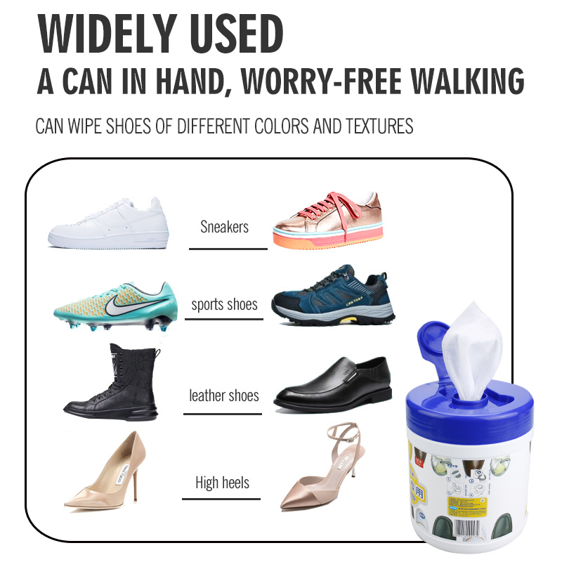 China Wholesale Kitchen Wipes Pricelist - Customize easily effectively clean white and leather shoes wipes – Better