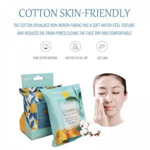 Sensitive and gentle removes all makeup cleansing and makeup remover wipes with vitamin e, and vitamin c