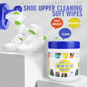 China Wholesale Antibacterial Moist Wipes Suppliers - Customize easily effectively clean white and leather shoes wipes – Better