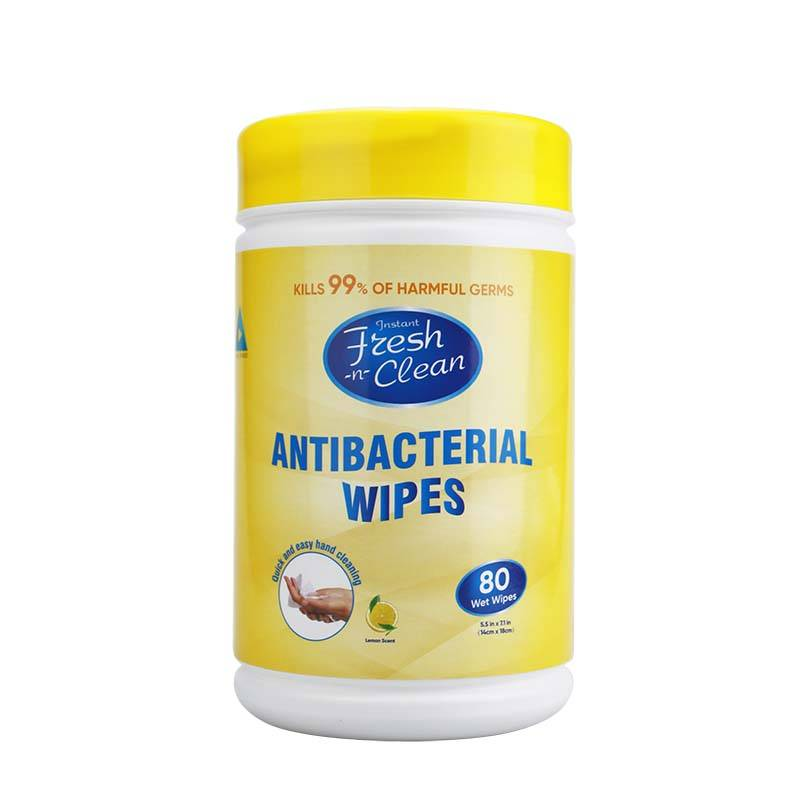China Wholesale Sanitizing Wipes Pricelist - Kills 99% of harmful germs antibacterial wipes – Better