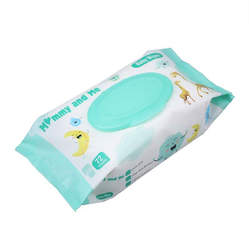 China Wholesale Disposable Kitchen Wipes Factory - 72 wipes Household Fragrance Clean Baby Wipes – Better