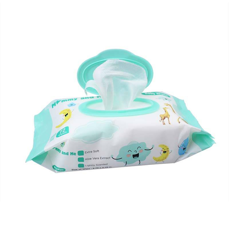 China Wholesale Disposable Kitchen Wipes Factory - 72 wipes Household Fragrance Clean Baby Wipes – Better Featured Image
