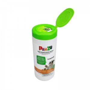 Pet Grooming Cleaning Pet Wipes Paw Sanitizing Wipes