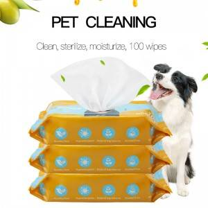 Effective deodorizing pet friendly safe cleaning wipes