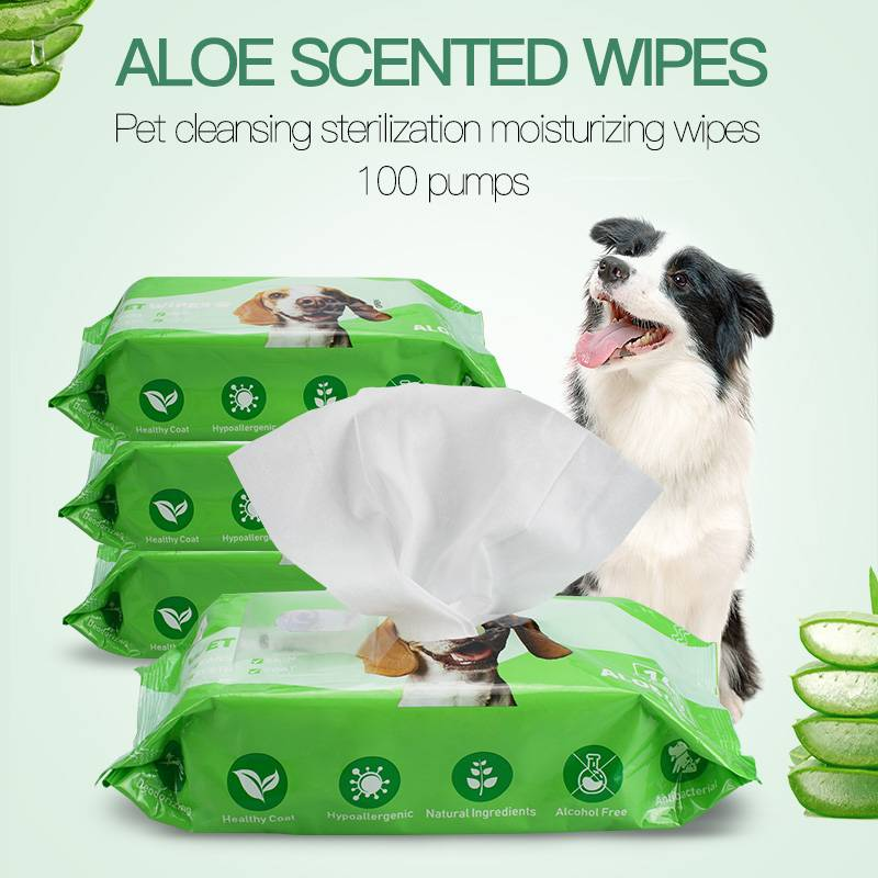 China Wholesale Bamboo Dry Wipes Manufacturers - High quality large size pet grooming pet bath wipes for dogs – Better detail pictures