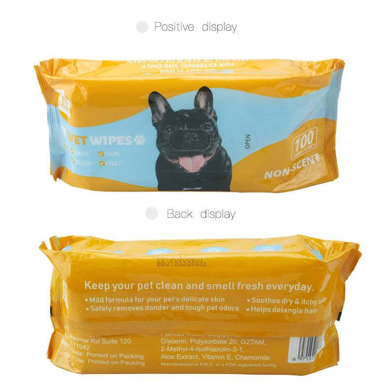 China Wholesale Superdrug Antibacterial Hand Wipes Pricelist - Effective deodorizing pet friendly safe cleaning wipes – Better