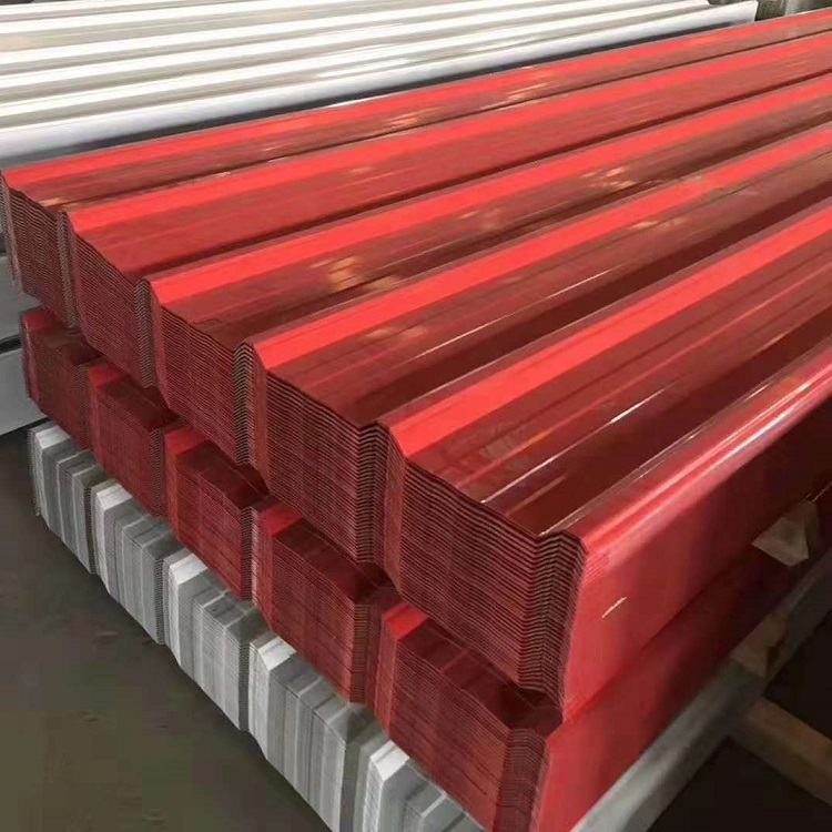 China Square Tubing Factory - Ppgi Corrugated Metal Roofing Sheet/Galvanized Steel Coil Prepainted Corrugated Gi Color Roofing Sheets/Sheet Metal Price – TOPTAC