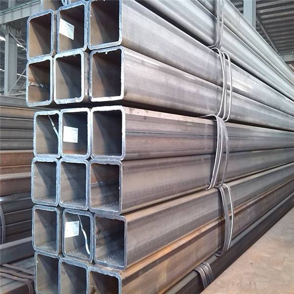 Wholesale Structural Steel Tubing Factories - S235JR Welded Rectangular/Square Structural Steel Pipe/Tube/Hollow Section/SHS/RHS – TOPTAC