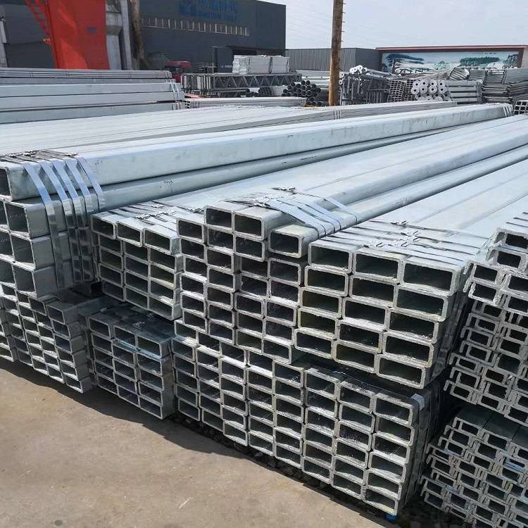 Wholesale Cold Rolled Pipe Suppliers - En Standard Good Quality Hot Dipped Galvanized 100×400 Rhs Tube – TOPTAC