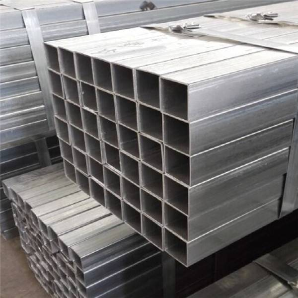GI Square Steel Pipe/HOT Dipped Galvanized Steel Pipe/Tube Structure Building Material Featured Image
