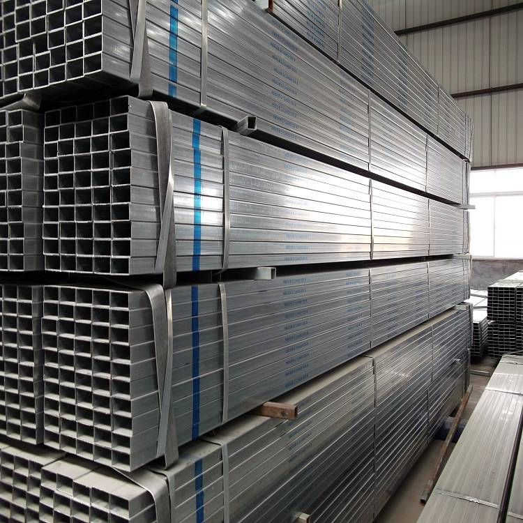 China Galvanized Pipe For Gas Line Factories - Pre Galvanized Sqaure Hollow Section 32×32 Tube – TOPTAC