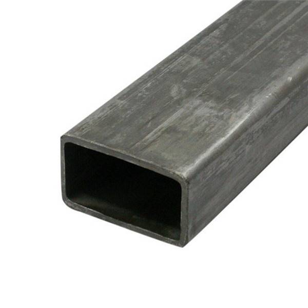 China Hot Rolled Steel Pipe Factory - Erw Welded Hot Rolled Black Carbon Square Rectangular Hollow Section Steel Pipe Tube – TOPTAC