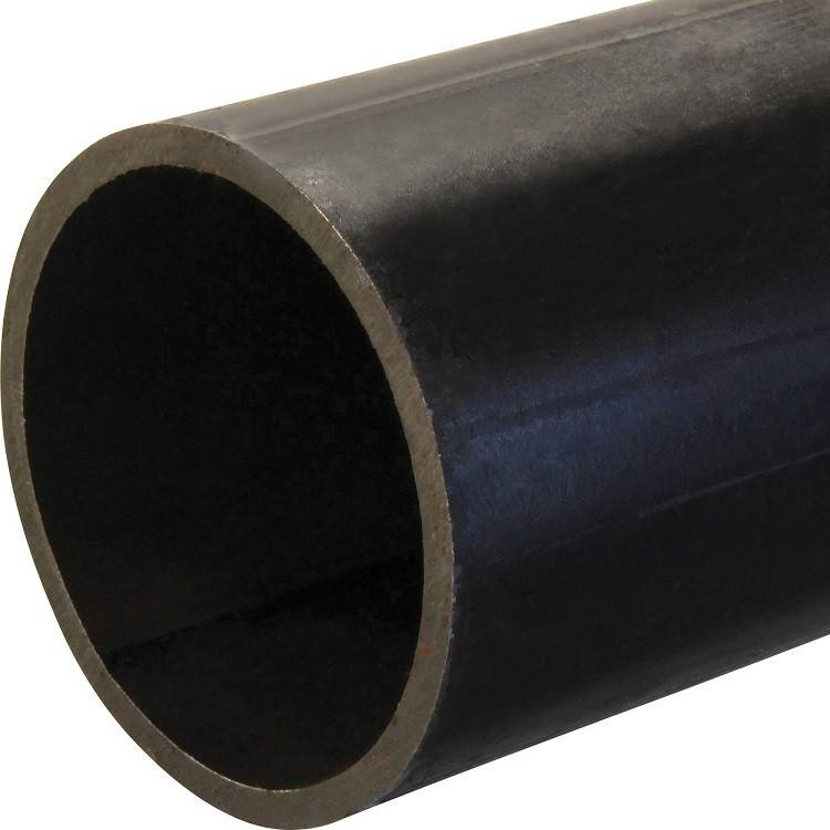 Building Material/Hollow Tube/Metal Pipe/Q345 Q235B ERW Black Round Steel Welded Pipe