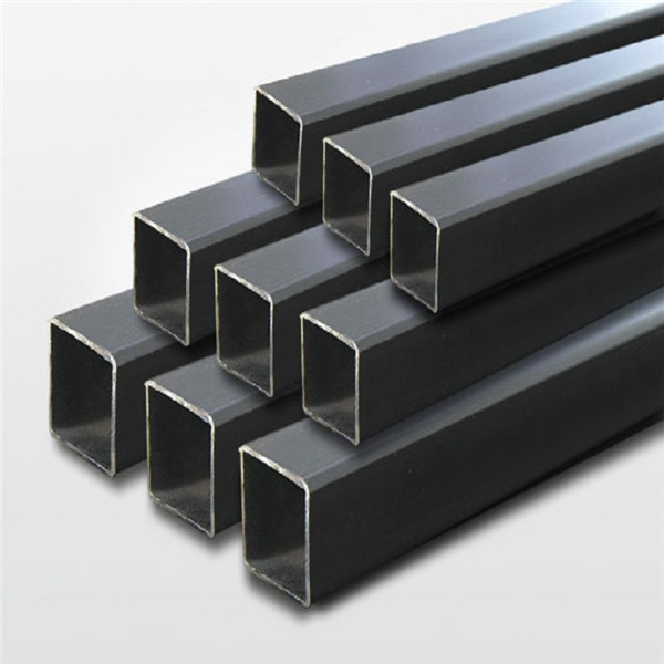 Wholesale Hardened Steel Tube Manufacturers - Building Material Mill Black Steel Square Tube Carbon Steel Square Pipe/Hollow Section – TOPTAC