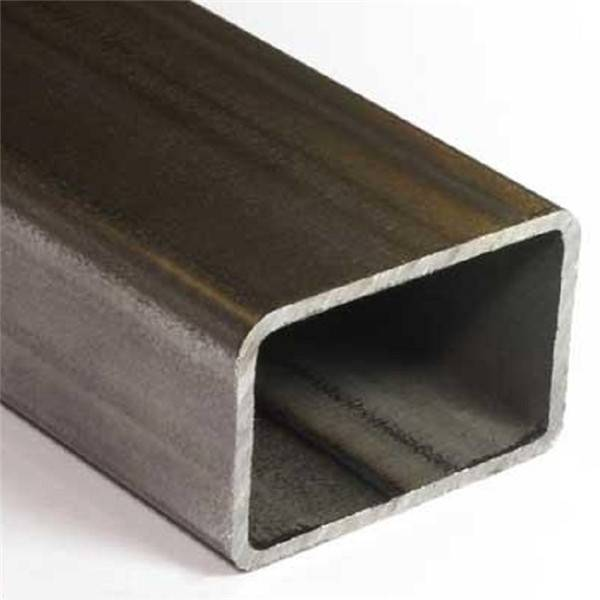 Wholesale Cold Rolled Steel Pipe Manufacturers - Mild Steel Ms Carbon Black Steel Rectangular Hollow Section Pipe Tube – TOPTAC
